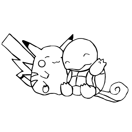 pokemon à colorier